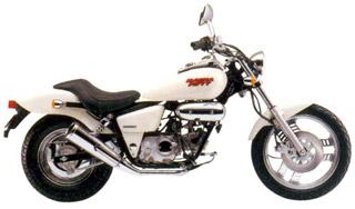 Круизер Honda Magna 50