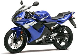 Спортивный мотоцикл Yamaha TZR 50